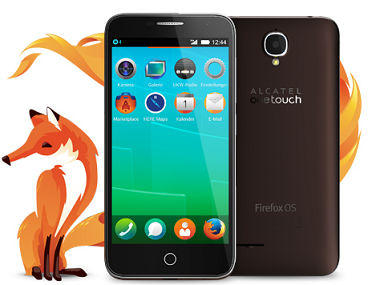 Alcatel One Touch Fire E mit Firefox OS