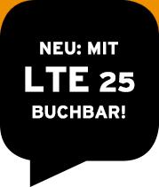 Neu: Mit Lte 25 buchbar!